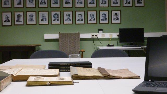 Arbeitsplatz Archiv
