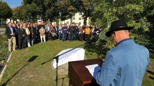 Einweihung Blue-Ash-Park am 3. Oktober 2015
