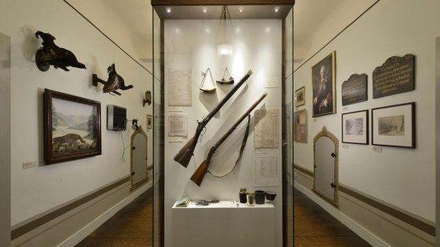 Museum Jagdhaus Gabelbach - Diele