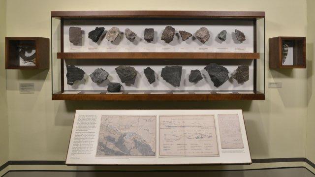 Museum Jagdhaus Gabelbach - Gesteinssammlung
