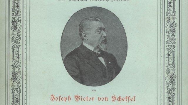 Gabelbachlied von Joseph Victor von Scheffel, Deckblatt