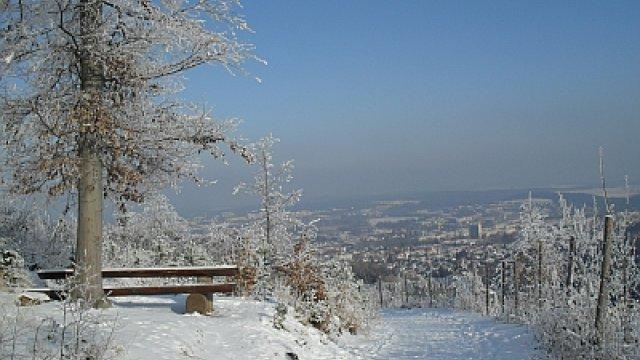Kickelhahner Weg im Winter