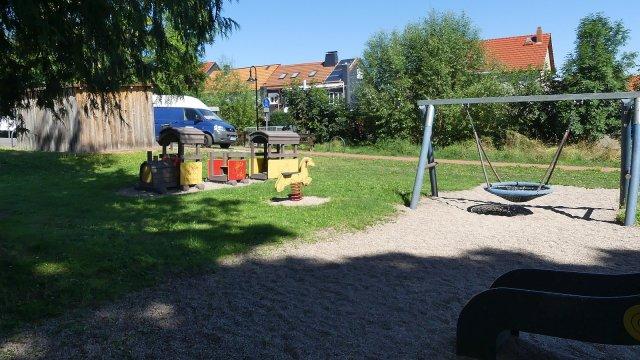 Langewiesen - Spielplatz Bockrand / Ziegeleiweg