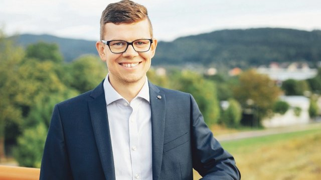 Oberbürgermeister Dr. Daniel Schultheiß  (Foto: Paul Träger)