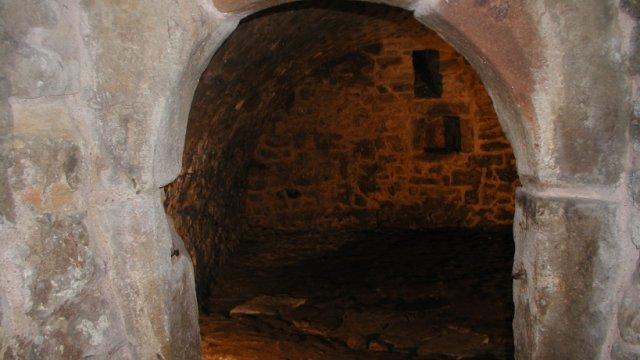 Kellergewölbe des Münzkellers