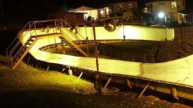 Rennschlittenbahn - Nachtrodeln