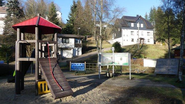Stützerbach - Spielplatz Am Glaswerk