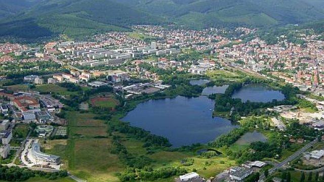 Luftbild Ilmenau (Foto von Wolfgang Kliebisch)