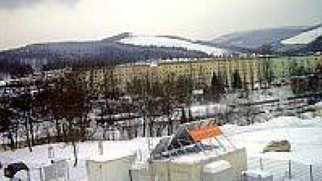 Webcam der Wetterstation der TU Ilmenau im Winter