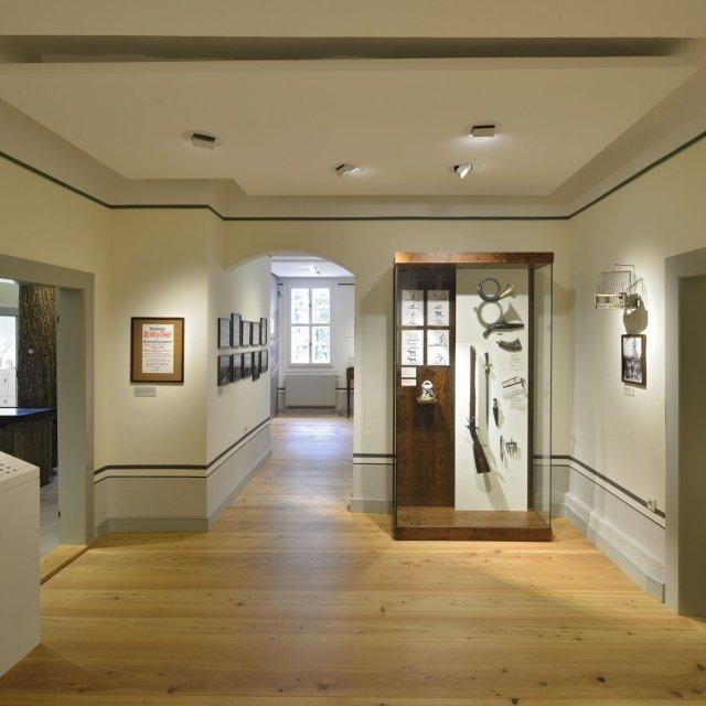 Museum Jagdhaus Gabelbach - Ausstellung im Erdgeschoss