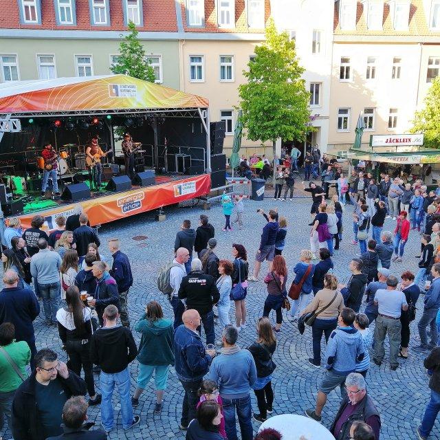 Bühne Markt 2019