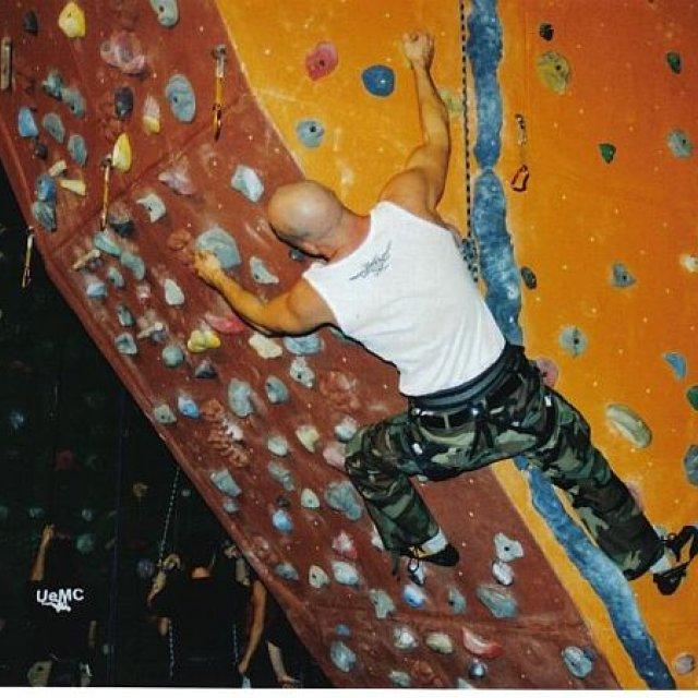 Indoor Freeclimbing
