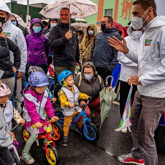 Laufradrennen mit Jens Voigt Deutschland Tour