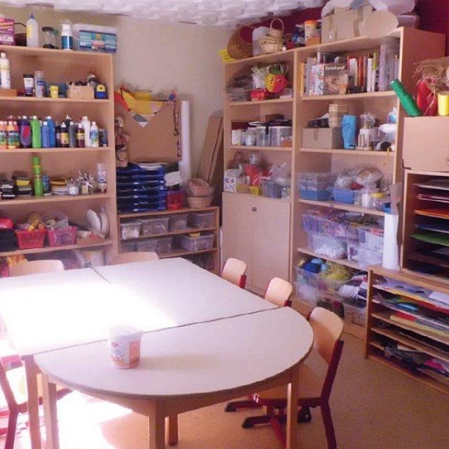 Kindergarten Hüttengrund - Das Kreativzimmer