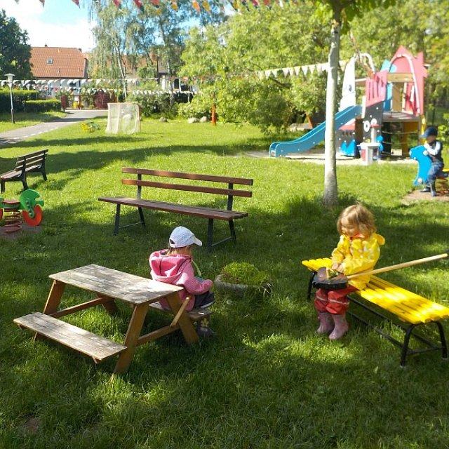 Kindergarten Hüttengrund - Viel Raum für eine Pause