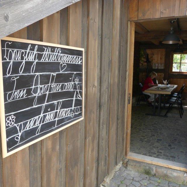 Münzkeller - Eingang