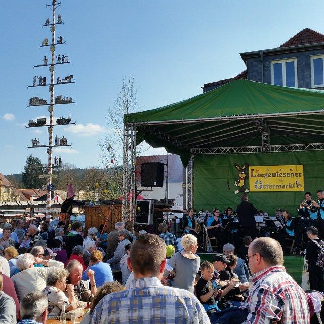 Ostermarkt Langewiesen - Bühne