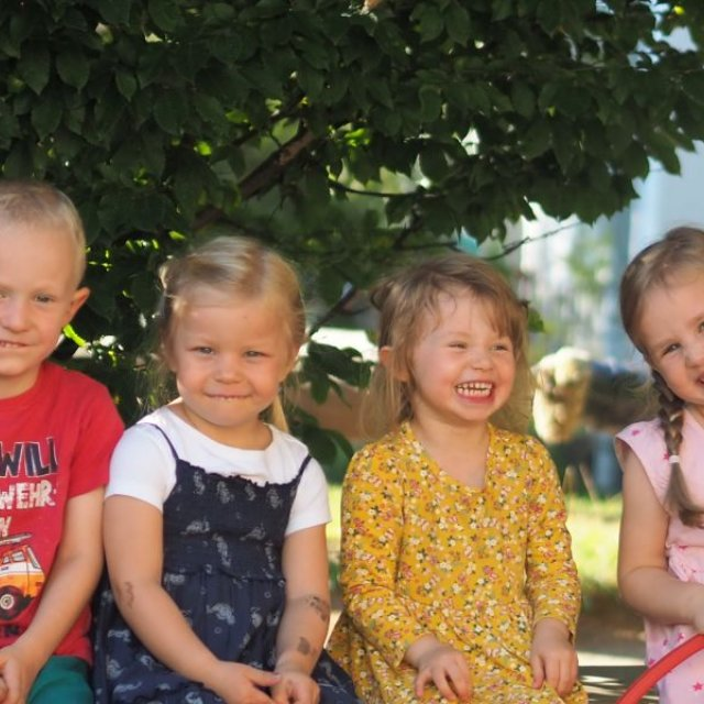 Tag im Kindergarten Stephanie