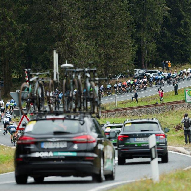 Renntross Frauenwald Deutschland Tour