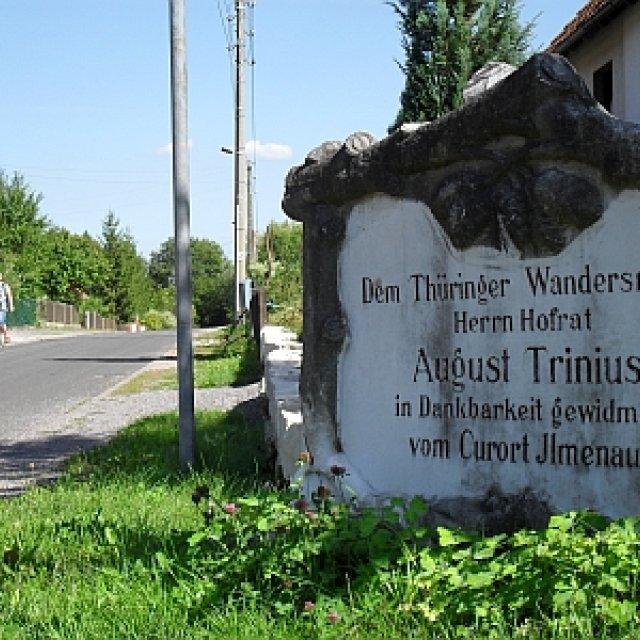 Gedenkstein für Curort Ilmenau