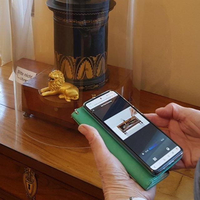 WEB-Audioguide auf eigenem Smartphone