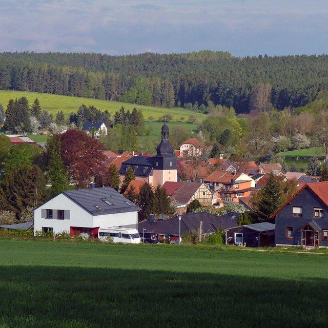 Blick auf Wümbach