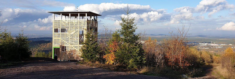 Aussichtsturm auf dem Lindenberg