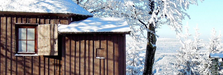 Goethehäuschen im Winter