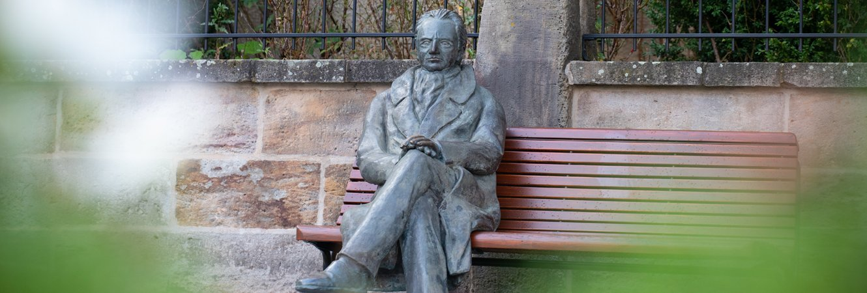 Goethe vor dem Amtshaus