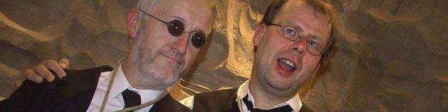 Eberhard Manske und Hans-Jürgen Freitag