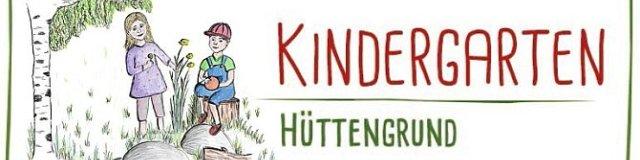 Kindergarten Hüttengrund  (Zeichnung: Sabine Hartwich)