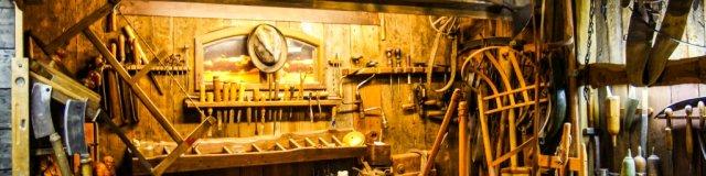 Glasmuseum Stützerbach Blick in die Werkstatt