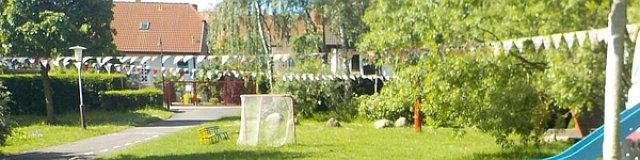 Wimpelketten im Kindergarten Hüttengrund