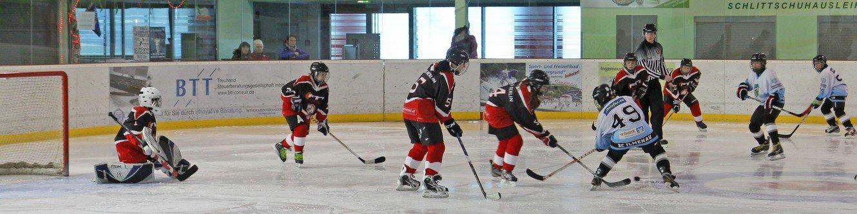 Eishockey in der Eishalle Ilmenau