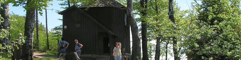 Goethehäuschen auf dem Kickelhahn