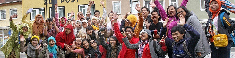 Ausländische Studierende zur ISWI 2013
