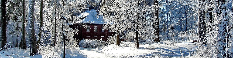 Jagdhaus Gabelbach im Winter