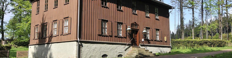 Jagdhaus Gabelbach im Sommer