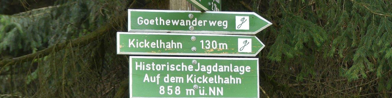 Schilder Kickelhahn