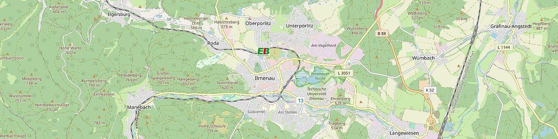 Stadtplan (Openstreetmap)