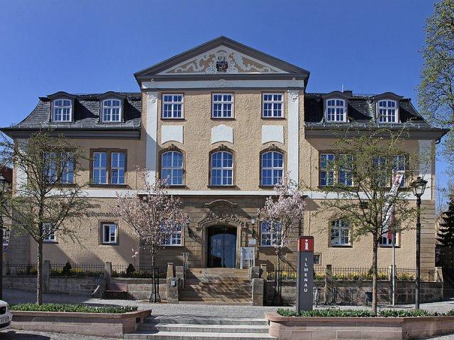 Amtshaus im Frühling (Foto: A. Hartmann)