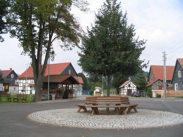Pension Lindenhof Wipfra Dorfplatz