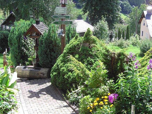 Ferienhaus Sauerbrey Gartenblick