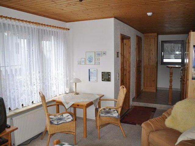 Ferienhaus Kahl Sitzecke