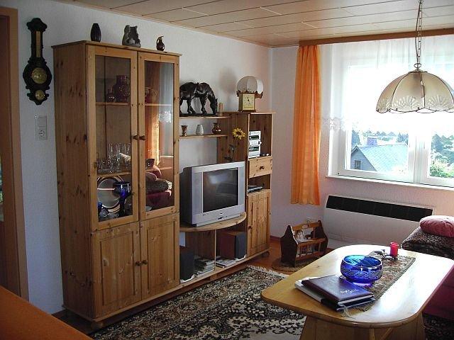Ferienhaus Sauerbrey Wohnzimmer