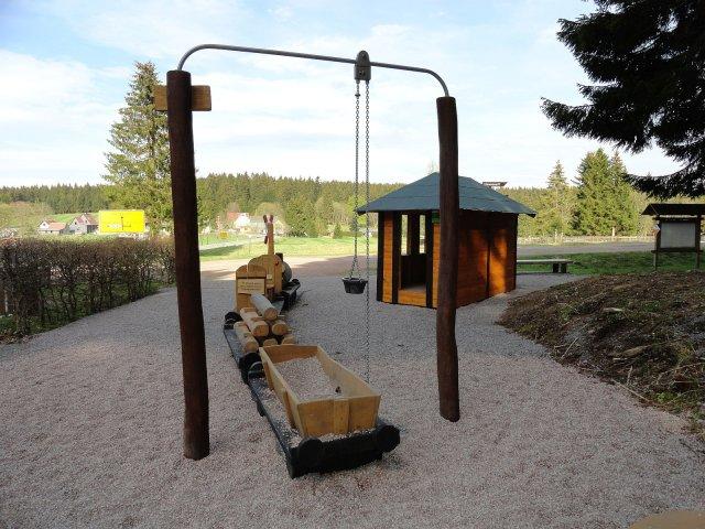 Frauenwald - Spielplatz Laura - Allzunah