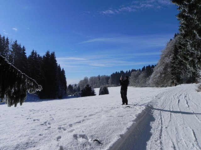Frauenwald Fraubachtal Winter