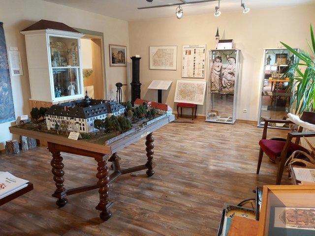 Raum im Stadt- und Schlossmuseum