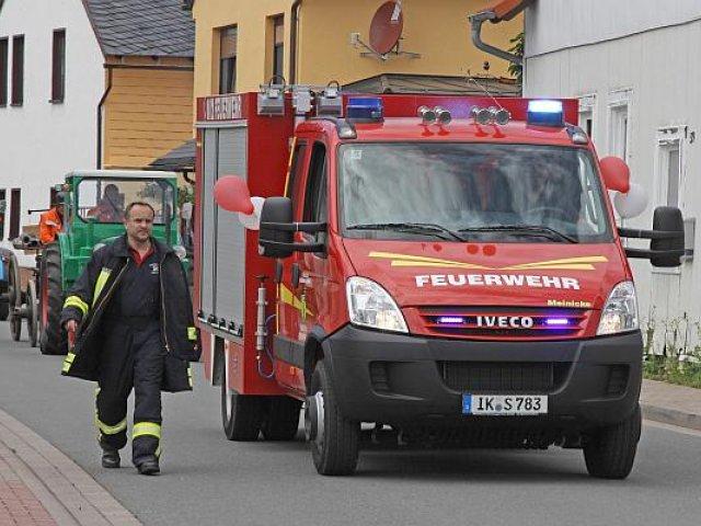 130 Jahre Freiwillige Feuerwehr Oberpörlitz (2012)