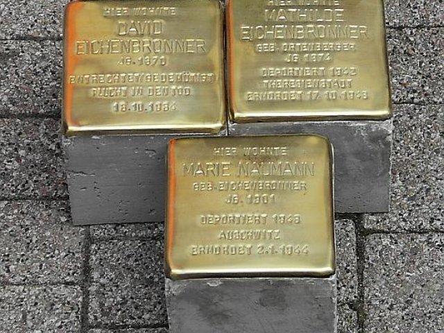 Verlegung der Stolpersteine im Jahr 2007
